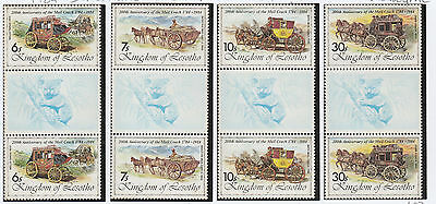 "Lesotho stamps 1984 International Stamp Exhibition ""AUSIPEX 84""  SG 599-602 MNH"