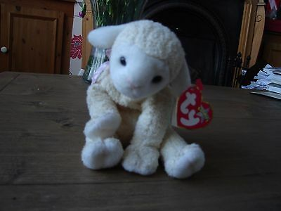 """Ty Beanie Babies """" Fleecie"""" the lamb, 2000 with tags"""