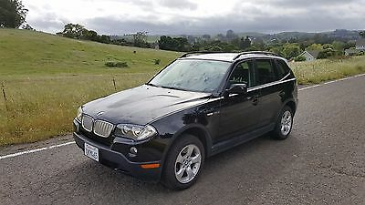 2007 BMW X3 3.0si Sport Utility 4-Door 2007 BMW X3 3.0si - Black on Black - Panoramic Roof - AWD - Accident Free