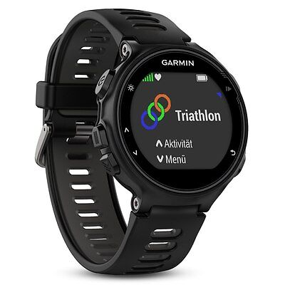 Garmin Forerunner 735XT Multisport GPS Cardio Watch HRM - BlackGrey 010-01614-06