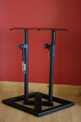 2 x Gorilla Speaker Stands adjustable