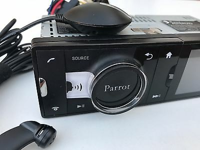 Parrot Bluetooth Hands-Free Car Kit Asteroid Classic GPS Music AUX USB 1-DIN