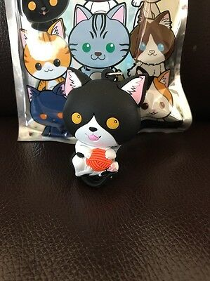 Cat Collector 3D Figural Keyring Keychain Exclusive B [BB2]