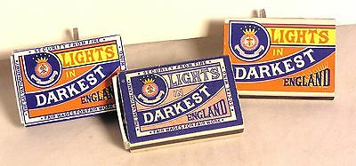 "Salvation Army - COLLECTION OF THREE ""DARKEST ENGLAND"" MATCHBOXES"