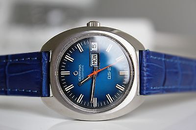 CERTINA DS-2  Certiday Automatic *BLUE dial, 1975*