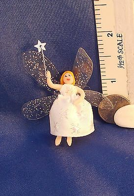 Dolls House 1/12 OAK by LM Christmas Tree Fairy Topper