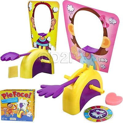 New Pie Face Game Fun Filled Kids Family Game Of Suspense Box Package Gift Toys