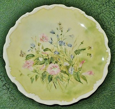 "Royal Albert Plate ""Glorious Morning"" from the Shakespeare's Flowers set - EC"