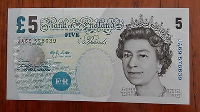 Bank of England Five Pound Note, Martyn Lowther, 1999-2003