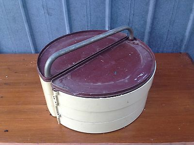 Vintage Old Capstan Fishing Tackle Box/storage