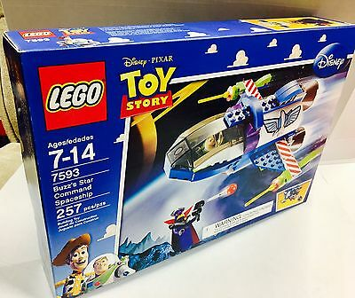 LEGO Toy Story 7593 Buzz's Star Command Spaceship new and sealed