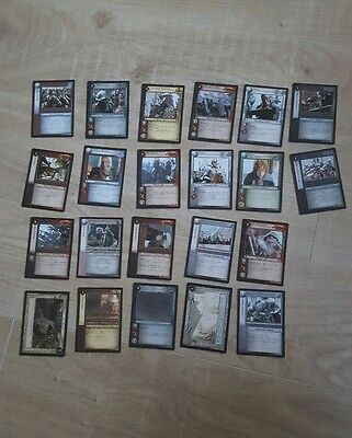 Lord of the Rings Trading Card Game Selection of 22 Ulaire Lemenya Minas Tirith