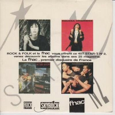 """STAR T NO.2 Various 7"""" VINYL French Star T 4 Track Promo EP Featuring Big Audio"""