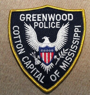 MS Greenwood Mississippi Police Patch