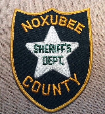 MS Noxubee County Mississippi Sheriff Patch