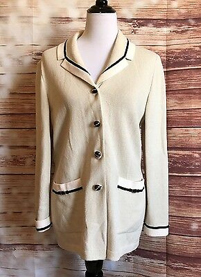 St. John Collection by Marie Gray size 10 blazer jacket coat
