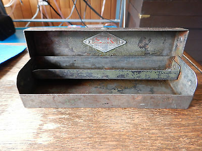 Antique S-K Tools Socket Box The Sherwin Klove Company (BOX ONLY)