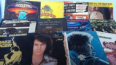 BUNDLE LOT of 25 VINYL RECORDS