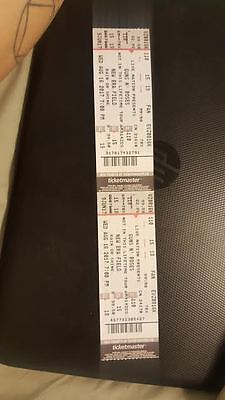 Guns n roses tickets for BUFFALO, NY Aug 16, Section 110, Row 15