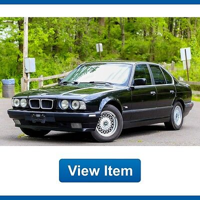 1995 BMW 5-Series  1995 BMW 540i E34 Manual Sport Package Serviced California CARFAX Rare!