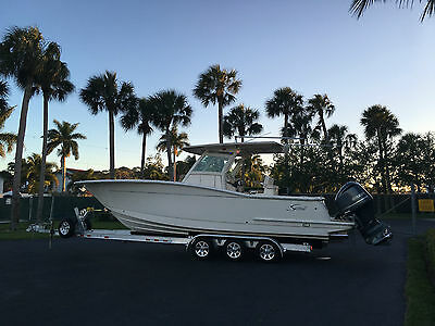 2015 Scout 30LXF Center Console 300HP Yamahas Warranty 139 Hrs Sexy Loaded Wow