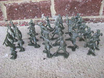 Marx Russian WWII Infantry Toy Soldiers 1/32 54MM Playset Stalingrad