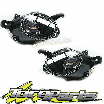 Fog Lights Pair Suit Holden Commodore Ve Series 2 Ss Ssv Sv6 Lamps Spot Driving