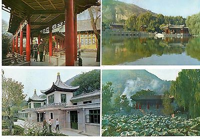 """China postcards 'Huaching Hot Spring"""" unused 1982 Complete set of 10"""