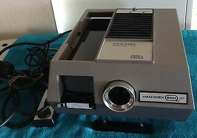 HANIMEX RONDETTE 35mm COLOUR SLIDE PROJECTOR and Han-o-matic magazine