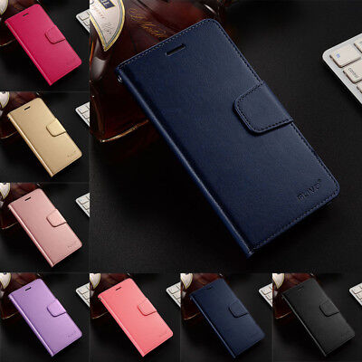 Luxury Slim Leather Flip Wallet Magnetic Case Cover For Meizu M5C/M5S/M5 M6 Note