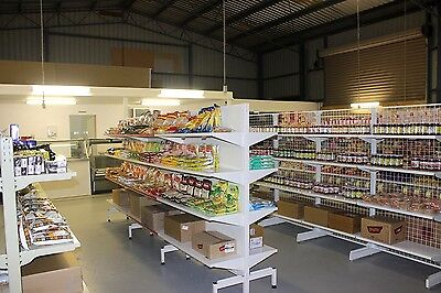 Shelvings and racks for small business or shops