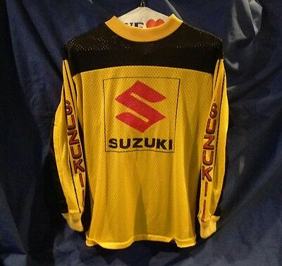 Vintage 70's Suzuki Motocross Jersey (NOT a reproduction) Kids size 14