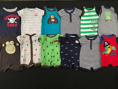 Baby Boys Newborn Carters Summer Romper Sets Outfit Clothes Lot B131