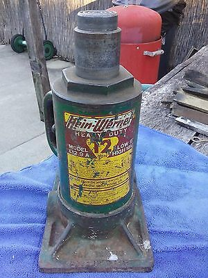 Vintage Hein-Werner Heavy Duty 12 Ton Bottle Jack