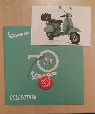Vespa 70th Anniversary (1946 - 2016) Pack - Set of 3 Collectors Items