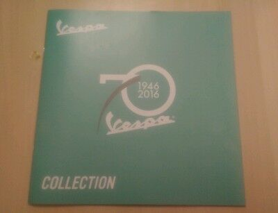 Vespa 70th Anniversary (1946 - 2016) Brochure - Collectors Item