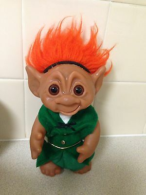 Vintage 1977 Large Troll -numbered Doll