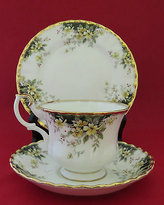 Royal Albert Royal Ascot Cup, Saucer and Plate, Made in England