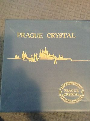 Prague Chrystal Bowl Set