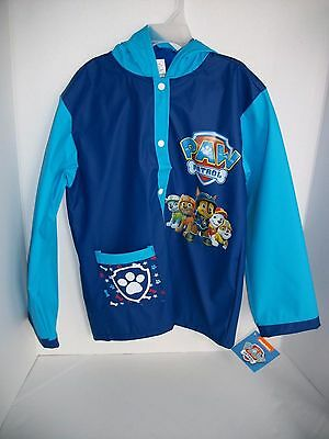 Nickelodeon Paw Patrol Child Rain Coat/ Slicker- Size M/L