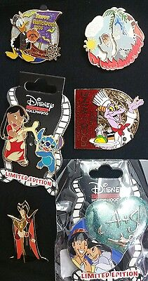 Disney Pin Lot of LE, DSF, and Retired Pins