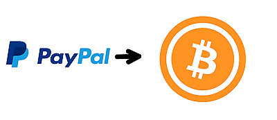 0.1 BTC, PayPal to Bitcoin Exchange - INSTANT direct to your wallet