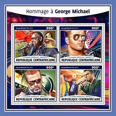 CENTRALAFRICA 2017 ** Tribute to George Michael Music M/S #215a