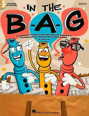 Hal Leonard In The B-A-G BAG Collection of Songs for Recorder Notes B-A-G Bk/CD