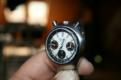 Citizen Bullheat AUTOMATIC Chronograph 8110 Vintage Flyback MEN'S WATCH 70er