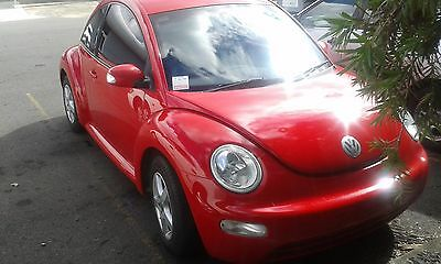 wrecking vw beetle 2005 manual 93000klms with books REPAiRABLE WRITE OFF