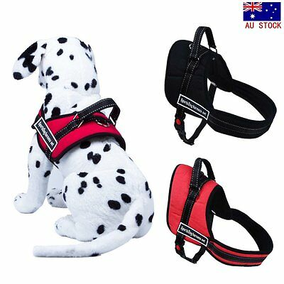 Pet Dog Adjustable Sport Harness Stop Pulling Training Chest Strap Collar XS-XL