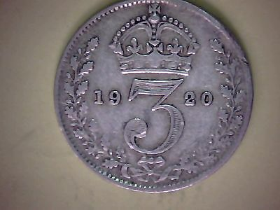 George v  silver threepence 1920