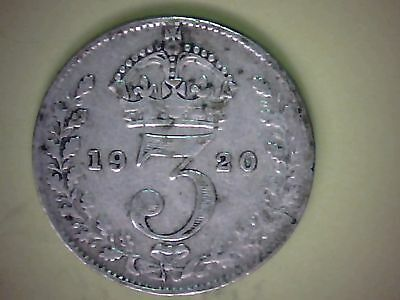George v 1920 silver threepence