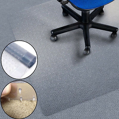 Heavy Duty Plastic Acrylic Carpet Protectors Mat Office Gripper Back Runner Roll